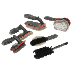 Detailer's Choice 6-Piece Brush Detailing Kit